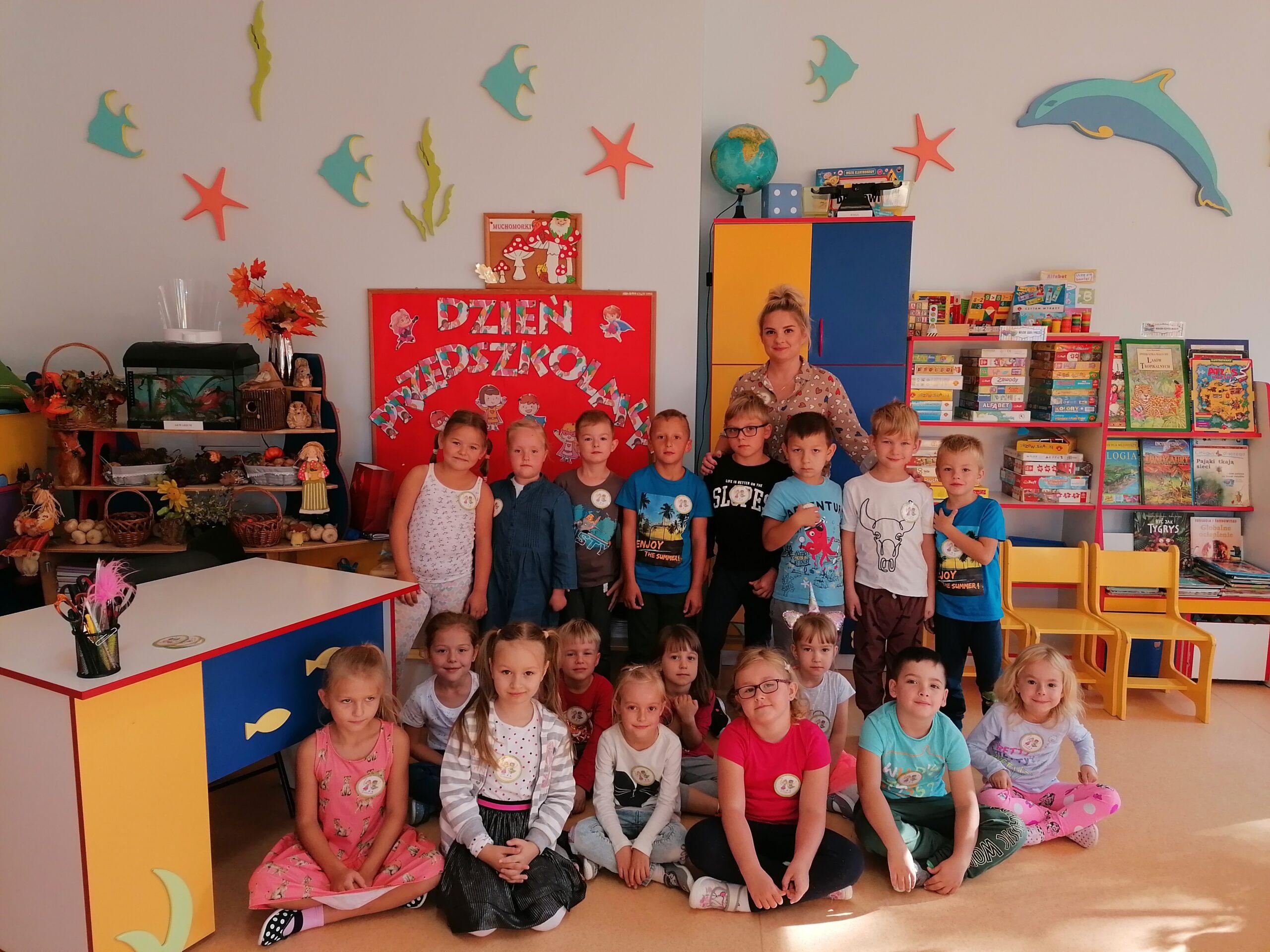 Muchomorki- Dzień Przedszkolaka 2020